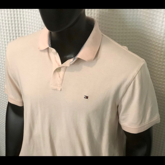 Tommy Hilfiger Other - Tommy Hilfiger Light Pink Polo